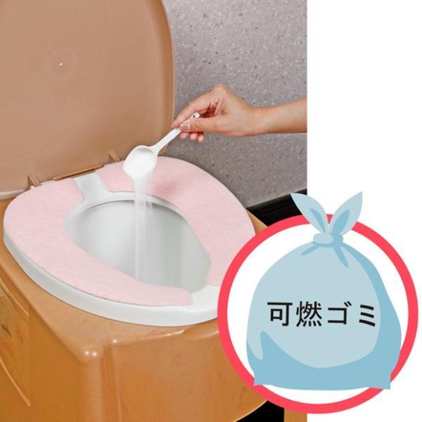 CH888 簡易トイレ強力凝固・消臭剤400|kaitekihyakka|04