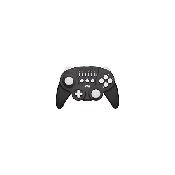ホリクラシックコントローラ ブラック Wii用の画像
