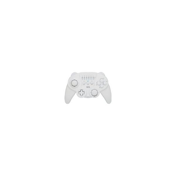 ホリクラシックコントローラ ホワイト Wii用の画像