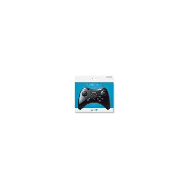 Wii U PROコントローラー Kuro 黒 クロ 任天堂(WUP-A-RSKA)の画像