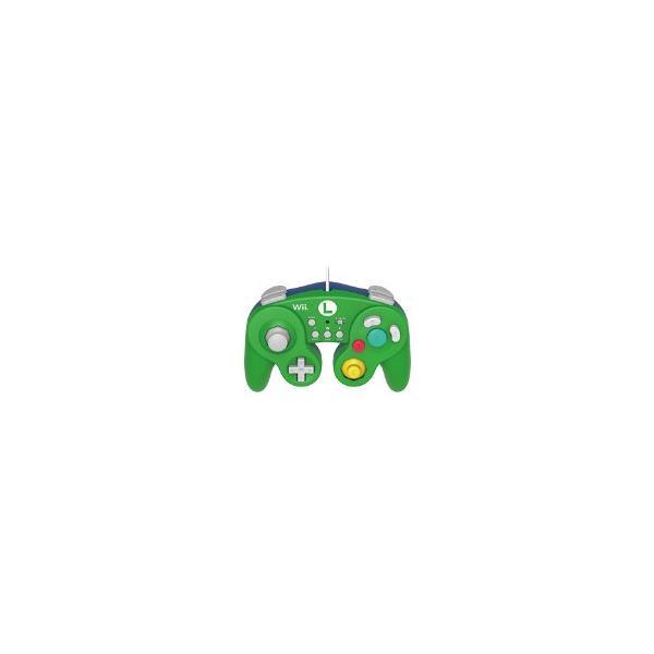 クラシックコントローラー ルイージ(WiiU用)の画像