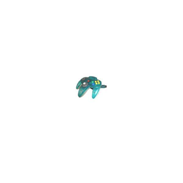 コントローラーブロス(クリアブルー) N64の画像