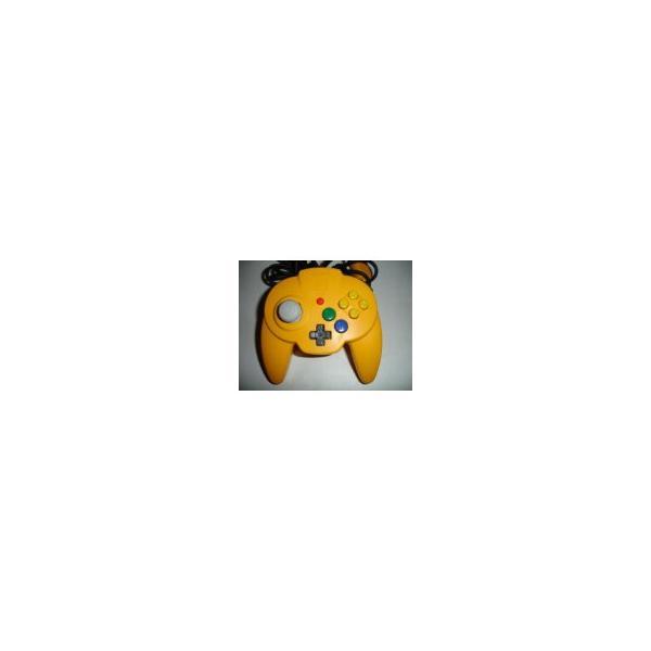 ホリパッドミニ64(イエロー) N64の画像