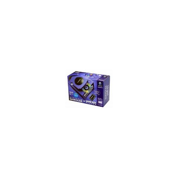 NINTENDO GAMECUBE+GAMEBOY PLAYER エンジョイプラスパック バイオレットの画像