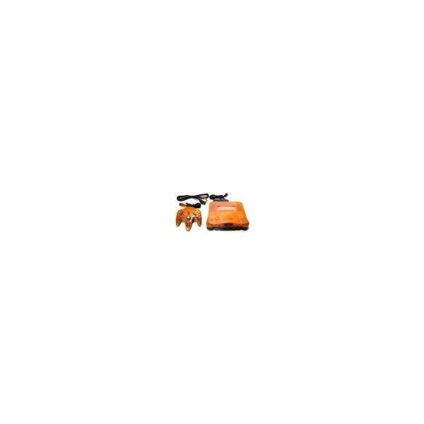 NINTENDO64 クリアオレンジ&クリアブラックの画像
