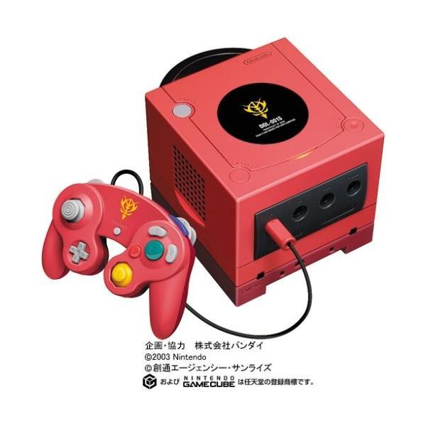 NINTENDO GAMECUBE シャア専用ボックスの画像