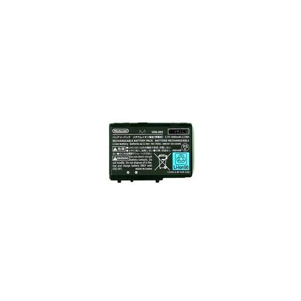 中古 ニンテンドーDSLite専用バッテリーパック USG-003 任天堂純正品バッテリー×2個セット