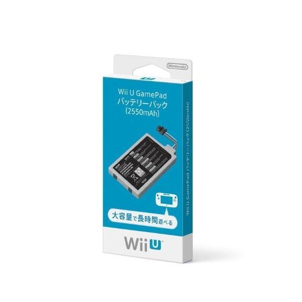 WiiU GamePadバッテリーパック(2550mAh)の画像