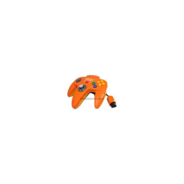 オレンジ・ピカチュウN64コントローラ N64の画像