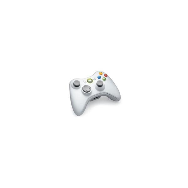 ワイヤレスコントローラー ピュアホワイト Xbox360用の画像