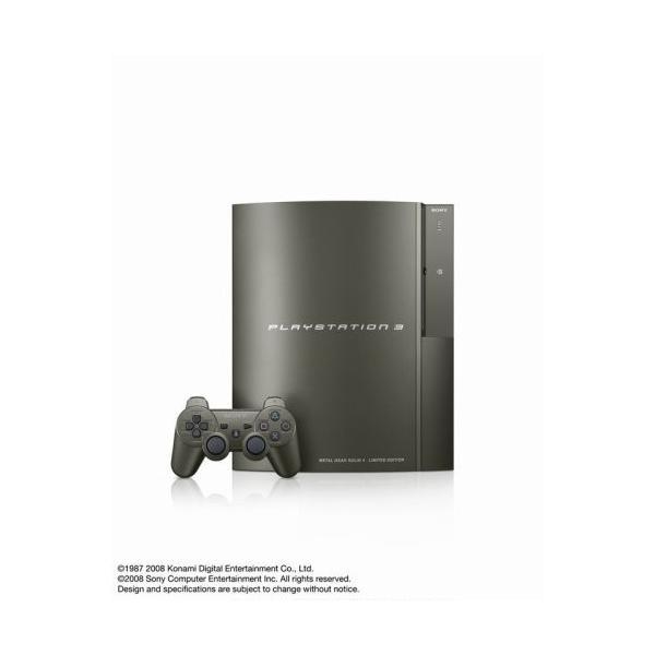 PlayStation3本体 メタルギアソリッド4 GUNS OF THE PATRIOTS プレミアムパックの画像