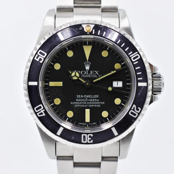 ロレックス 腕時計シードゥエラー16660トリプルシックスフチなし自動巻き中古品