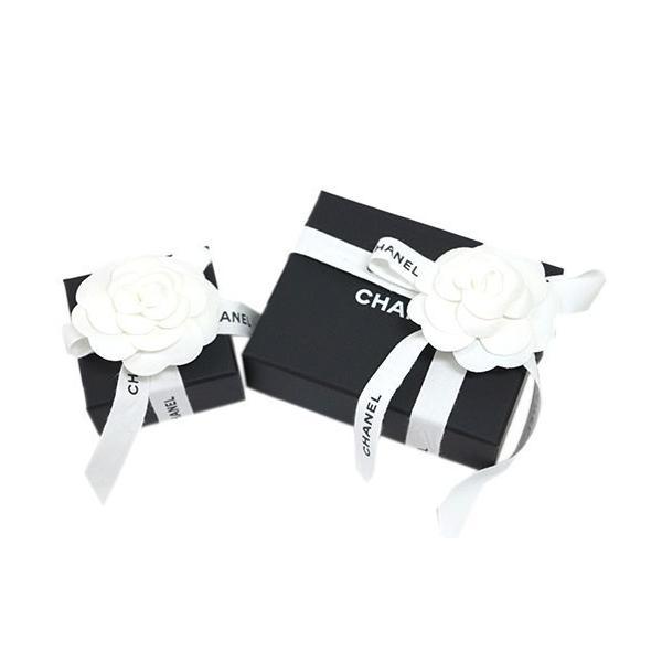 シャネル ピアス A97203 CHANEL ココ CC ブラック+グレーラインストーン シルバー 紙袋付き