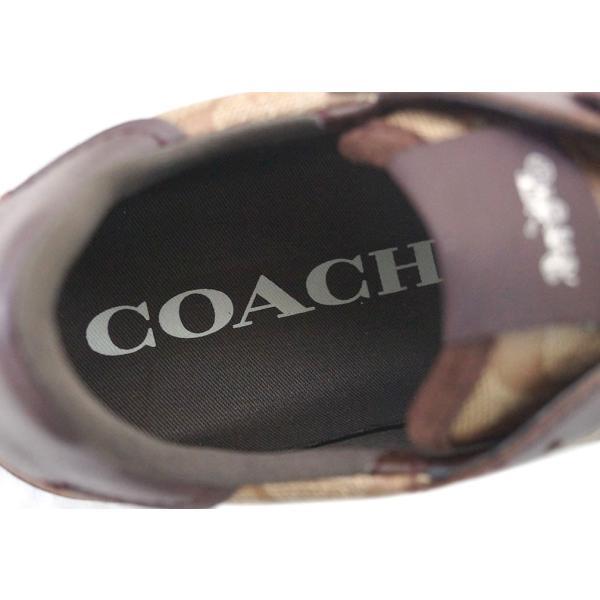 コーチ シューズ FG1889-KH/MA COACH レディース スニーカー C142 ランナー カーキ/マホガニー サイズ 7 B(24cm) アウトレット