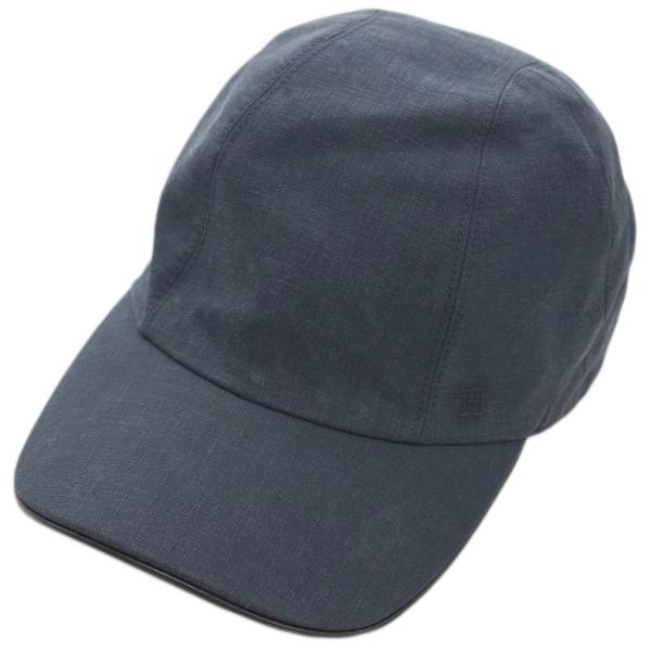 エルメス帽子H191040N86HERMESソルドメンズキャスケットキャップマイルスBLUNUI/NOIRネイビー/ブラック