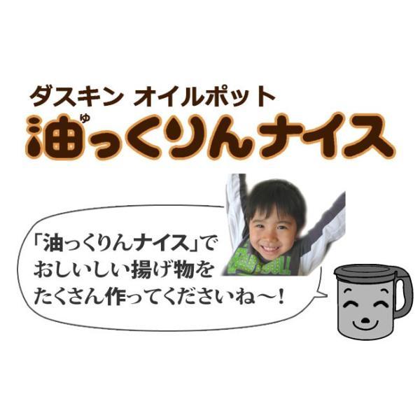 ダスキン 油っくりんナイス フィルターたっぷり10個 オイルポット ステンレス 油こし器 活性炭 フィルター ステンレス|kajitano|16