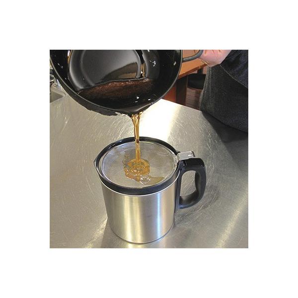 ダスキン 油っくりんナイス フィルターたっぷり10個 オイルポット ステンレス 油こし器 活性炭 フィルター ステンレス|kajitano|08