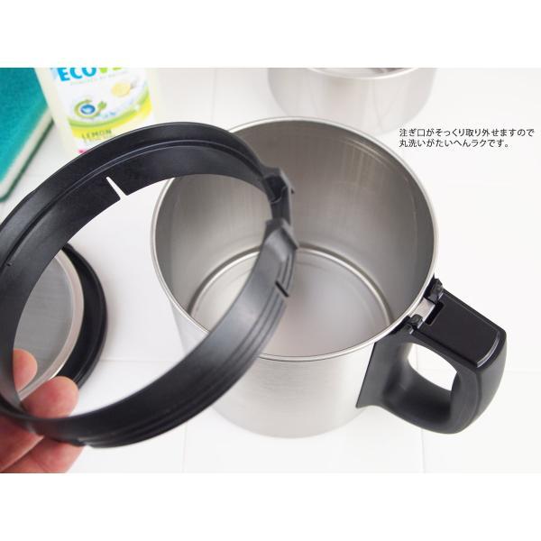 ダスキン 油っくりんナイス スタートセット フィルター4個 オイルポット ステンレス 油こし器 活性炭 フィルター ステンレス|kajitano|12