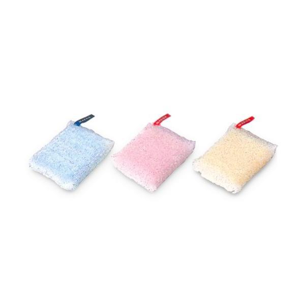 マーナ キラキラ スポンジ マルチ 全3色 MARNA 食器用 グラス用 鍋・フライパン用 キッチン|kajitano