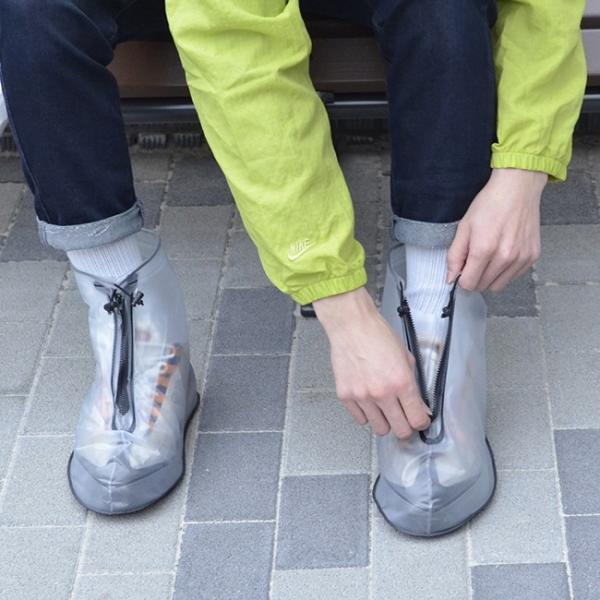 シューズカバー 防水 FROGU シューズカバー フロッグ 雨具 靴カバー ビニール 撥水 レインシューズ メンズ レディース kajitano 03