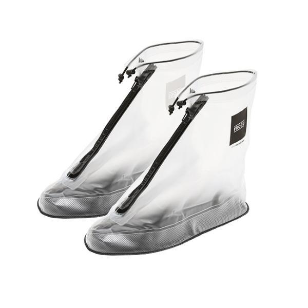 シューズカバー 防水 FROGU シューズカバー フロッグ 雨具 靴カバー ビニール 撥水 レインシューズ メンズ レディース kajitano 07