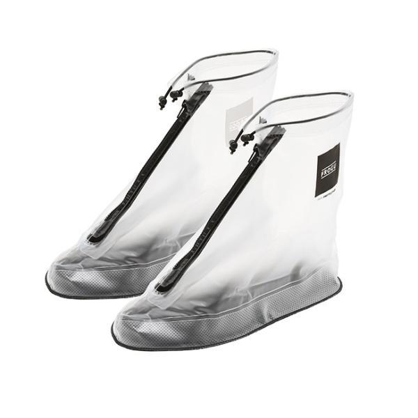 シューズカバー 防水 FROGU シューズカバー フロッグ 雨具 靴カバー ビニール 撥水 レインシューズ メンズ レディース kajitano 08