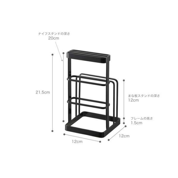カッティングボード&ナイフスタンド タワー  包丁 スタンド まな板 kajitano 03