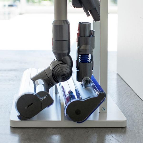 コードレスクリーナースタンド タワー  ダイソン スタンド 掃除機 おしゃれ コードレスクリーナー サイクロン掃除機 自立 掃除機スタンド|kajitano|04