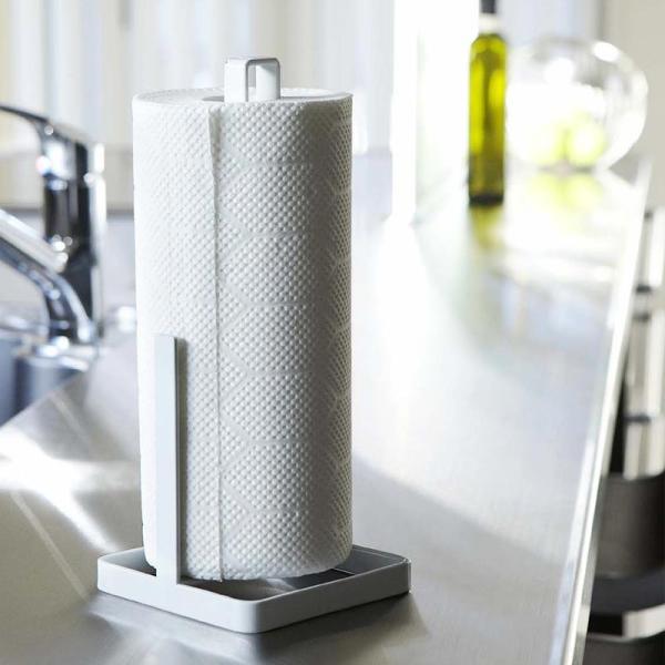 キッチンペーパーホルダー タワー  tower ペーパーホルダー 黒 白 kajitano