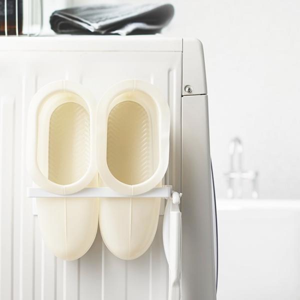 マグネット バスブーツホルダー タワー 山崎実業 収納 バスルーム 浴室 お風呂 マグネット収納 シンプル 磁石 強力 バスブーツ|kajitano|02