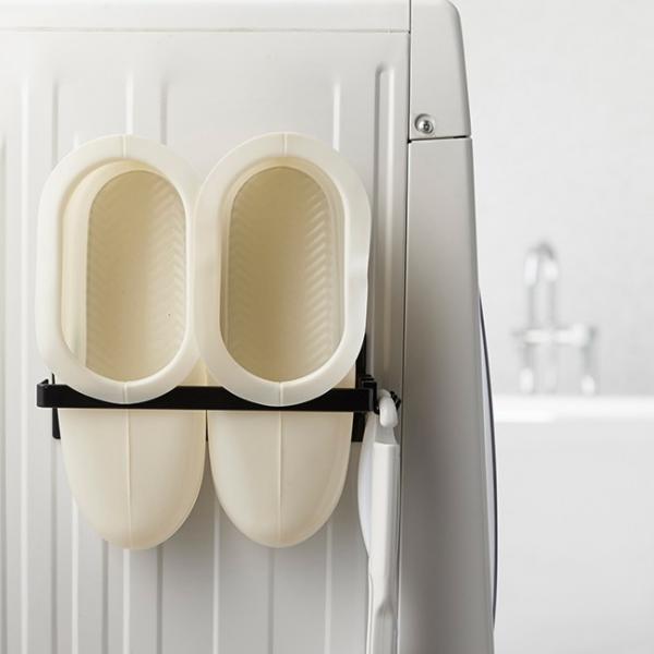マグネット バスブーツホルダー タワー 山崎実業 収納 バスルーム 浴室 お風呂 マグネット収納 シンプル 磁石 強力 バスブーツ|kajitano|06