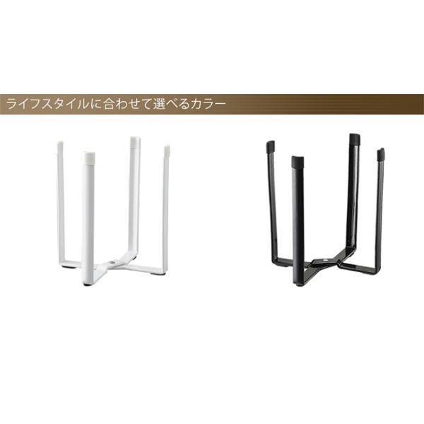 ポリ袋エコホルダー タワー  ホワイト ブラック 三角コーナー|kajitano|02