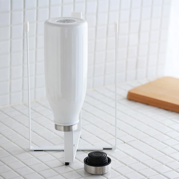 ポリ袋エコホルダータワー L  tower キッチン ごみ袋 生ごみ ホルダー ごみ箱 レジ袋|kajitano