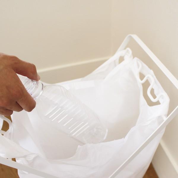 レジ袋スタンド タワー  ゴミ袋 スタンド ゴミ箱 折りたたみ|kajitano|04