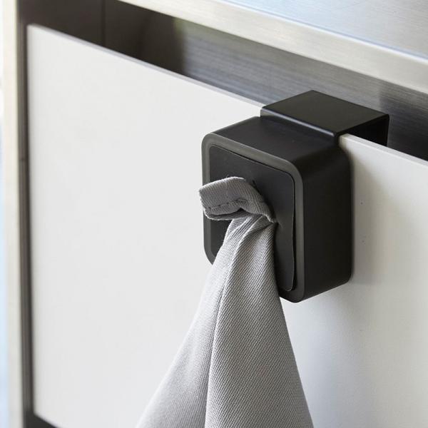 タオル掛け 布巾掛け シンク扉タオルハンガー タワー キッチン 収納 おしゃれ 洗面所 引っ掛ける タオルホルダー トイレ