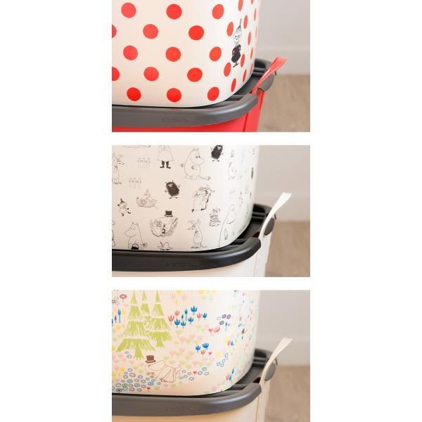 スタックストー ムーミン ランドリーバスケット おしゃれ おもちゃ箱 洗濯かご 収納 ボックス 北欧 stacksto スタックストー バケット M ムーミン|kajitano|03