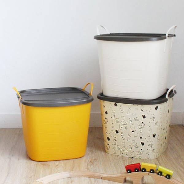 スタックストー ムーミン ランドリーバスケット おしゃれ おもちゃ箱 洗濯かご 収納 ボックス 北欧 stacksto スタックストー バケット M ムーミン|kajitano|05