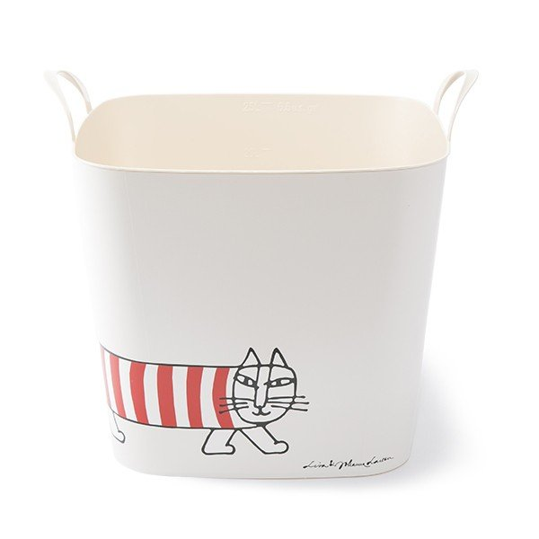 スタックストー リサラーソン 猫 ハリネズミ ランドリーバスケット おもちゃ箱 洗濯かご 収納 北欧 stacksto スタックストー バケット M リサ・ラーソン kajitano 09