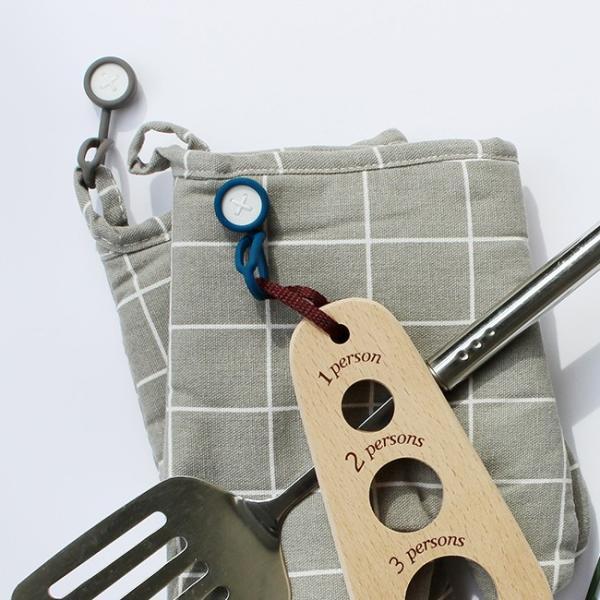 ボタンスリング ハンギングマグネット 2個セット マグネット 吊るす 磁石 キッチン 収納 浴室 玄関収納 おしゃれ 日本製|kajitano|04