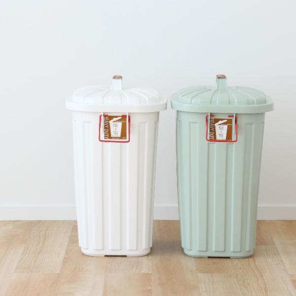 ゴミ箱 おしゃれ 分別 ペールペール 屋外 大型 45リットル ゴミ袋 ふた付き ペールxペール PALE x PAIL 60L 日本製|kajitano|02