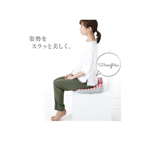 腰痛 クッション 骨盤クッション 姿勢矯正 骨盤矯正 座布団 ジムファブ JIMU fab 美姿勢サポートクッション|kajitano|02