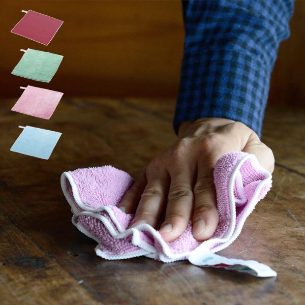 SCHALTEN クロス 全4種類 シャルテン クロス マイクロファイバー おしゃれ 掃除用品 掃除道具 おそうじ フローリング ほこり 油汚れ 大掃除 シンプル kajitano