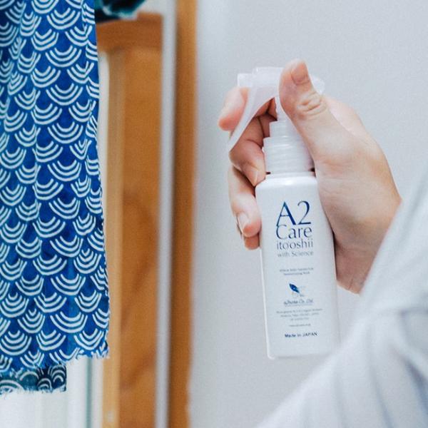 除菌 消臭剤 エーツーケア A2Care 100ml スプレー A2ケア 衣類 洋服 部屋 靴 トイレ ペット 赤ちゃん ベッド カビ ウイルス対策|kajitano|02