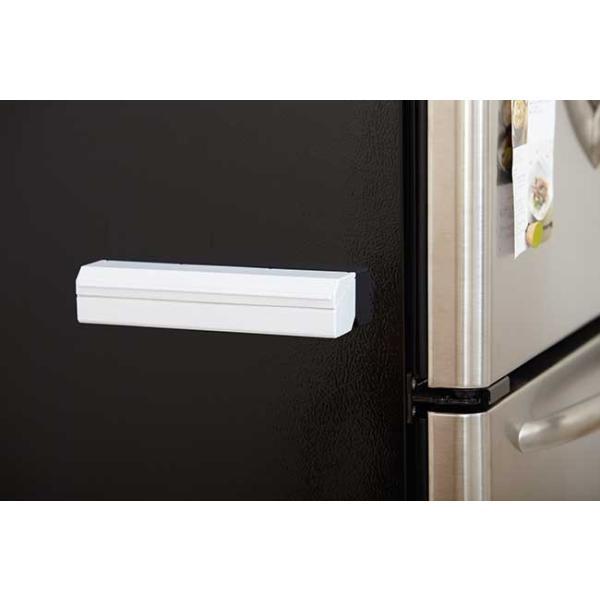 ラップホルダー 22cm ideaco ラップ 収納 アルミホイル クッキングシート 冷蔵庫 磁石 キッチン収納 イデアコ|kajitano|02