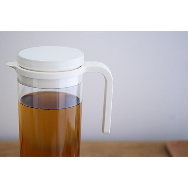 KINTO PLUG ウォータージャグ 1.2L  ウォータージャグ ピッチャー おしゃれ キントー 麦茶 水 アイスティー プラグ ブラック ホワイト レッド kajitano 03