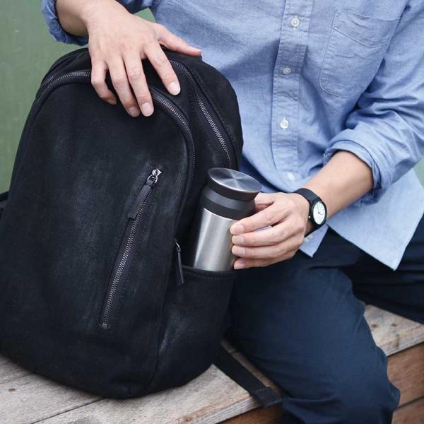 トラベルタンブラー 350ml KINTO タンブラー 蓋付き おしゃれ 保温 保冷 水筒 コーヒー お茶 水 直飲み キントー 持ち運び 旅行|kajitano|02