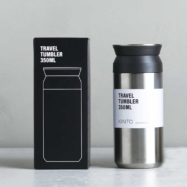 トラベルタンブラー 350ml KINTO タンブラー 蓋付き おしゃれ 保温 保冷 水筒 コーヒー お茶 水 直飲み キントー 持ち運び 旅行|kajitano|05