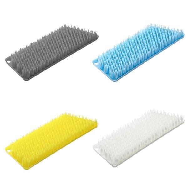 tidy プラタワ・フォーバス 全4色リニューアル バス床洗いブラシ ティディ 風呂床 浴室用ブラシ 風呂洗いブラシ タイル洗い 風呂掃除|kajitano|02