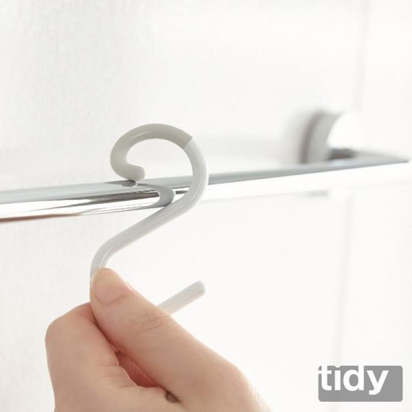 tidy Sフック 3個入り S字フック おしゃれ 外れにくい フック 引っ掛ける 掛ける収納 s字フック|kajitano|05