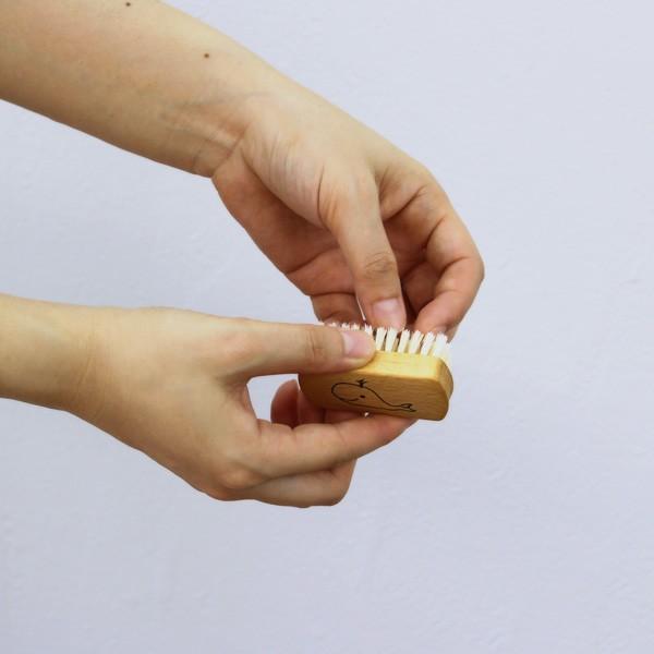 REDECKER 子供用 ネイルブラシ  レデッカー ブラシ つめブラシ 爪 ウッド やさしい 毛 豚毛|kajitano|06